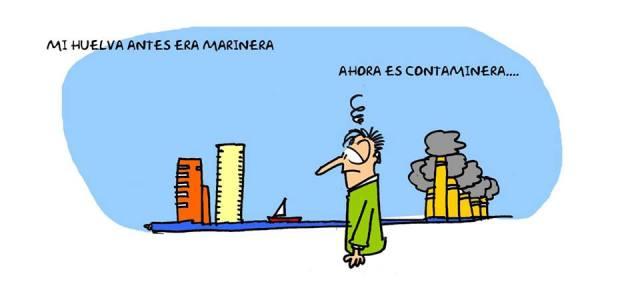 Mi #Huelva marinera... ahora es contaminera