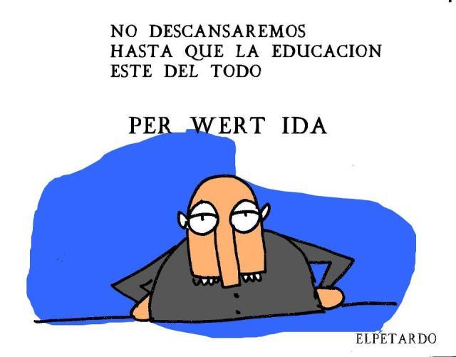 Educación PER-WERT-IDA