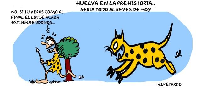 #Huelva en la prehistoria...todo era un #Doñana