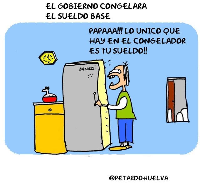 el #gobierno congelara #sueldobase  #humor